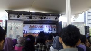 Launching Buku Dilan 1991 di Jakbook & Edu fair 2015 1