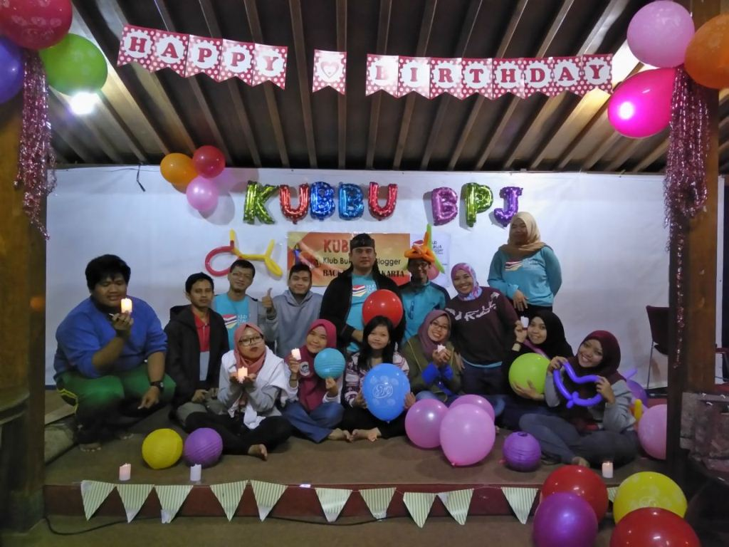 ulang tahun klub buku dan blogger backpacker jakarta 1 - diantin.com