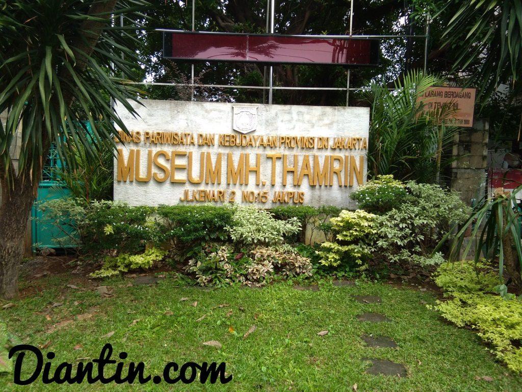 tempat bersejarah - museum mh thamrin - Diantin.com