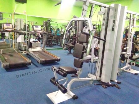 fitness centre - kesehatan kerja dan olahraga - diantin.com