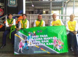 Taruna STTD kampanye jalan hijau