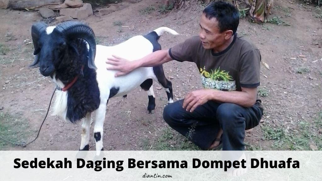 Sedekah Daging Bersama Dompet Dhuafa 1