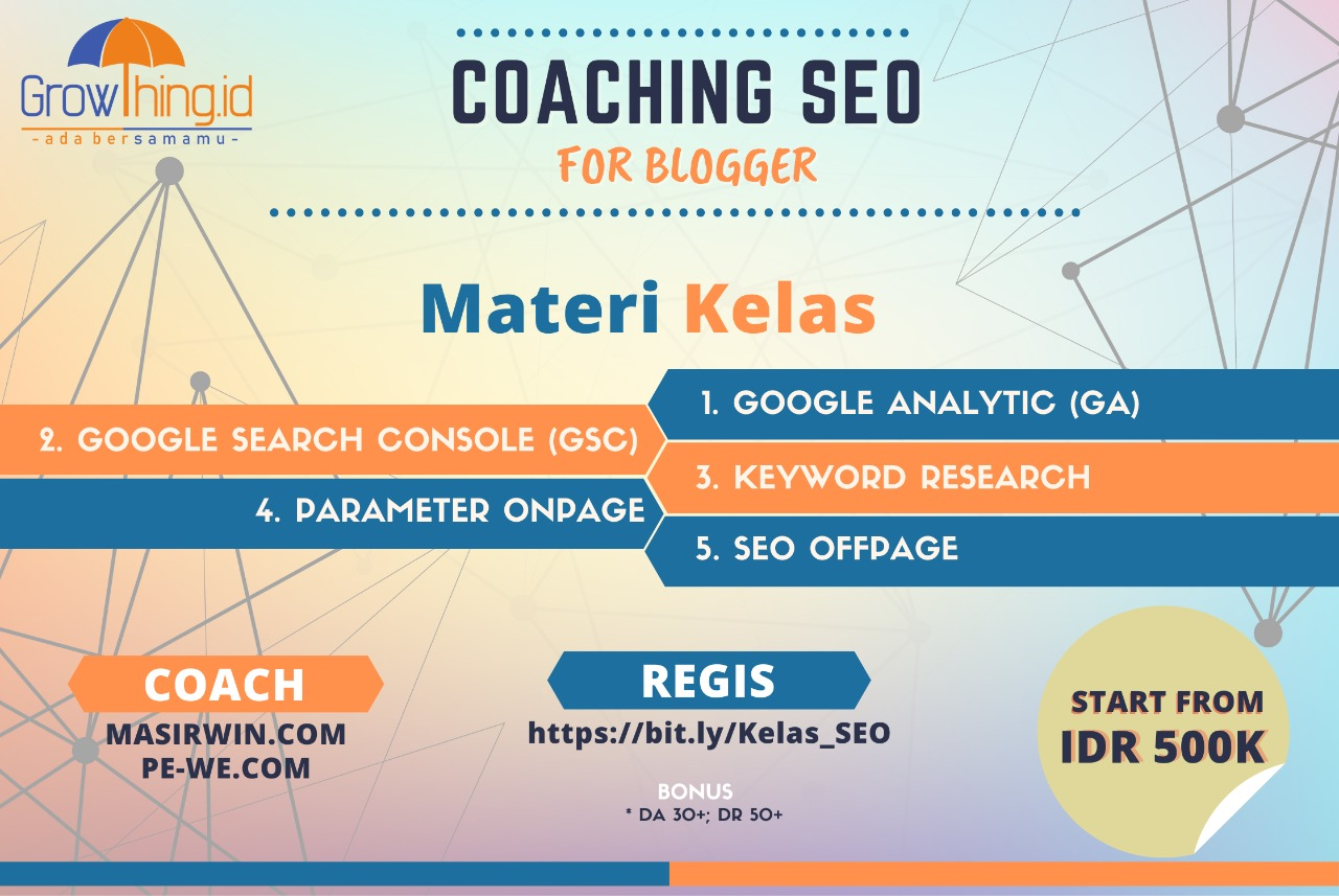 coaching-seo kelas growthing