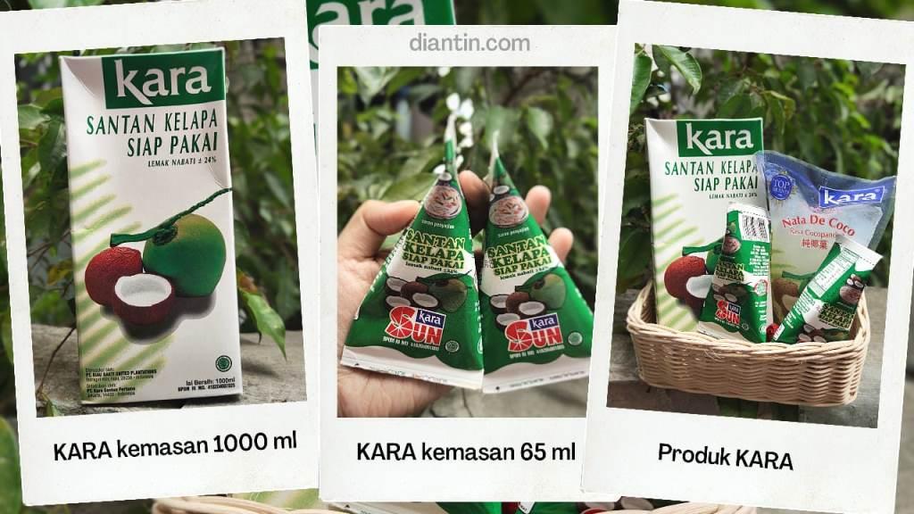 produk kara santan kelapa kemasan