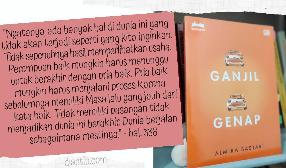 ganjil genap novel indonesia favorit bertema perempuan