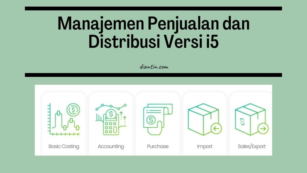 systemever versi i5 - manajemen inventory terbaik