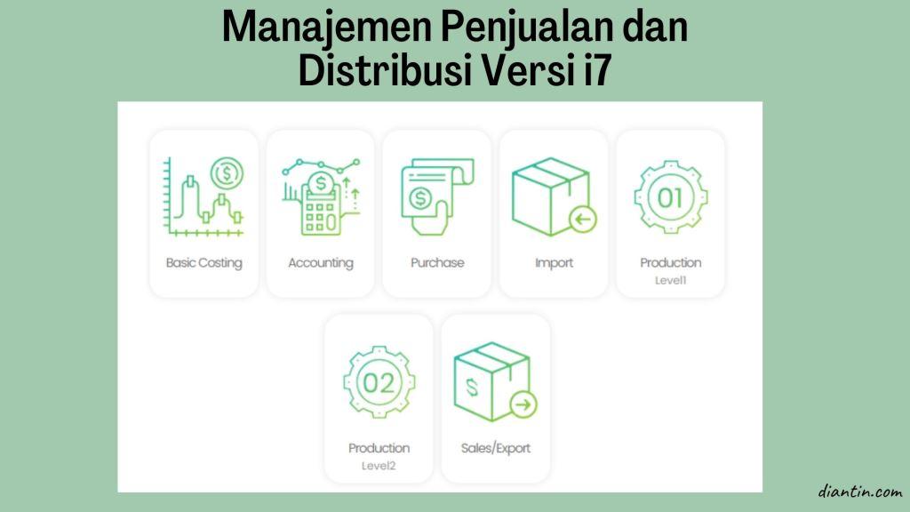 systemever i7 - manajemen inventory terbaik